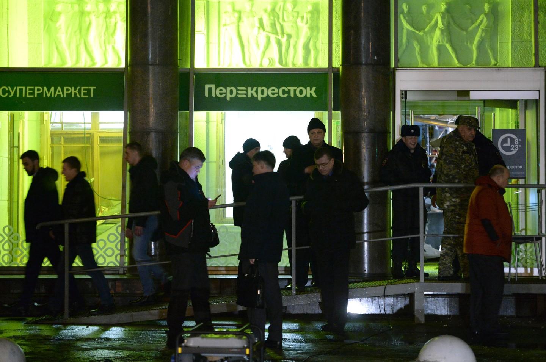 В Петербурге произошел взрыв в супермаркете, 10 человек госпитализированы