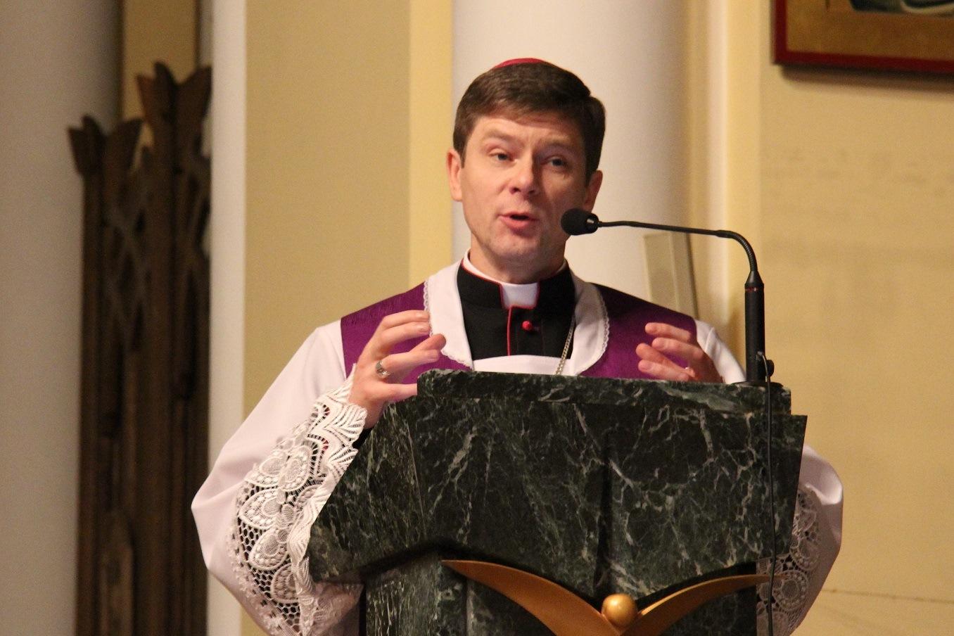 Духовные упражнения с епископом Виталием Кривицким, ординарием Киевско-Житомирской епархии