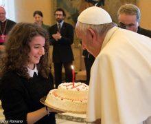 Папа Франциск отмечает свой 81-й день рождения