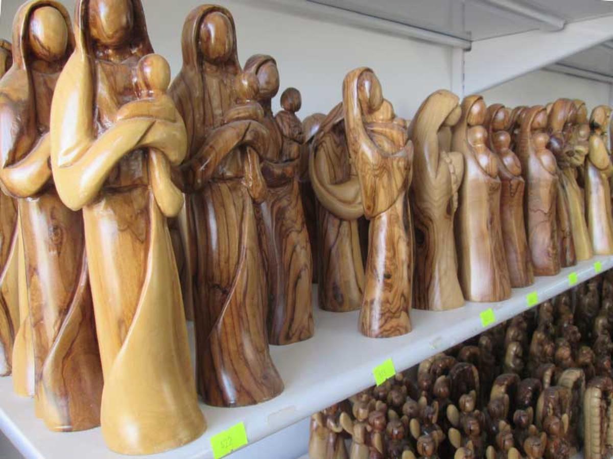 В Вифлееме резчики по оливковому дереву продолжают древние традиции Святой Земли