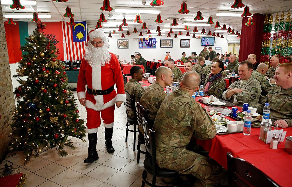 Рождество в Афганистане
