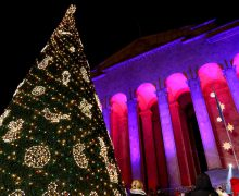 Рождественскую иллюминацию включили в Тбилиси (ФОТО)