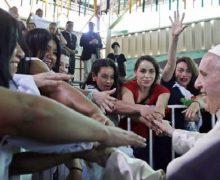 Папа встретился с заключёнными женской тюрьмы (+ ФОТО)