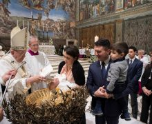 Angelus 7 января. Папа: помнить дату своего крещения
