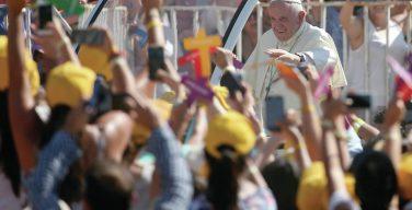 Папа — чилийской молодёжи: будьте в постоянном контакте с Иисусом (+ ФОТО)