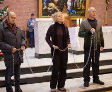 Экуменическое богослужение в Новосибирске состоялось в экстремальных погодных условиях