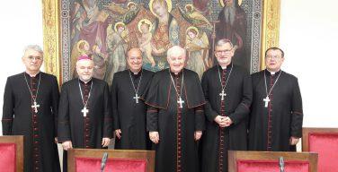 Продолжается визит ad limina российских епископов в Рим (ФОТО)