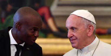 Папа встретился с президентом Республики Гаити