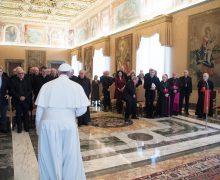 Папа: богословская академия должна быть местом диалога ради возвещения Евангелия