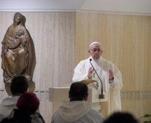 Папа: вера передаётся благодаря смелому свидетельству