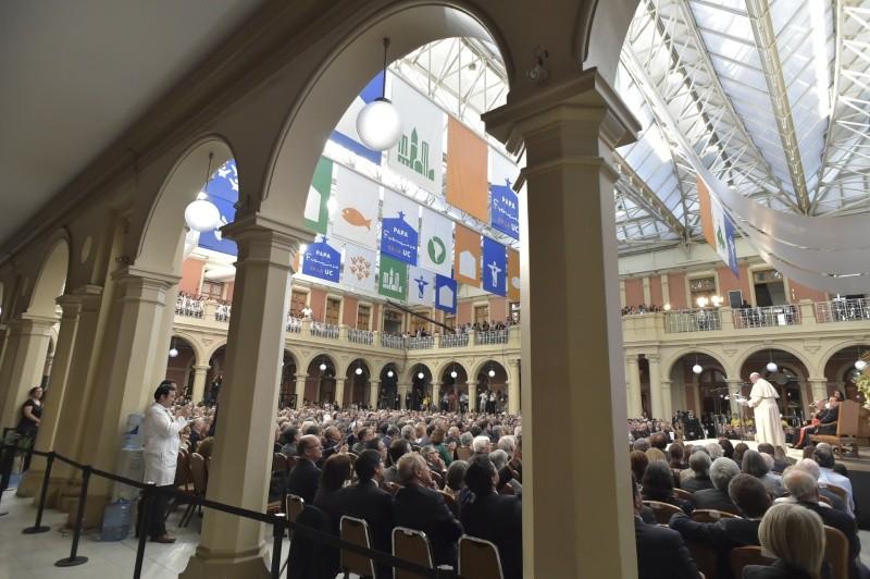 Папа Франциск: реформа церковных университетов и факультетов