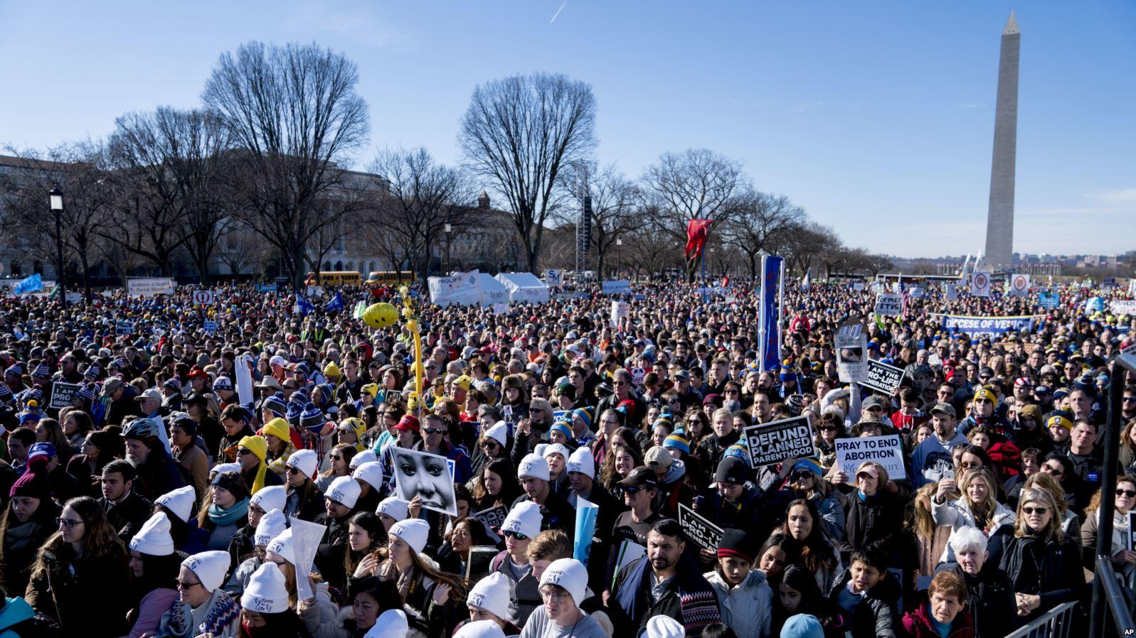 Трамп стал первым президентом США, обратившимся к участникам «Марша за жизнь»