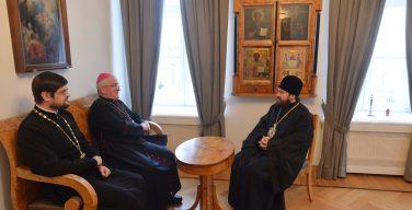 Председатель ОВЦС встретился с Апостольским нунцием в России