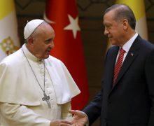 Эрдоган посетит Ватикан, чтобы обсудить статус Иерусалима – СМИ