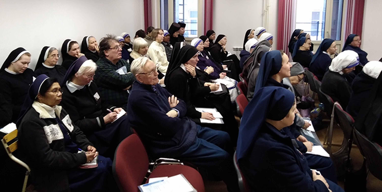 В преддверии Дня посвященной Богу жизни в Новосибирске проходит традиционная Всеепархиальная встреча монашествующих
