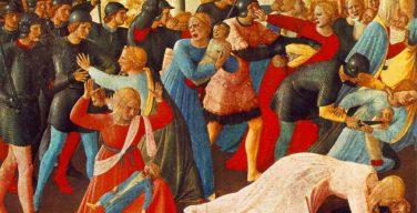 Крещение кровью: иконография избиения младенцев