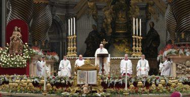 Папа: служить человеческой жизни — это служить Богу
