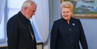 Глава Литвы: визит Папы Римского Франциска – большой подарок литовцам