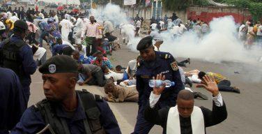 В Конго во время мирного марша 6 христиан убиты, свыше 70 ранены, 115 арестованы