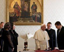 Папа встретился с премьер-министром Эстонии (ФОТО)