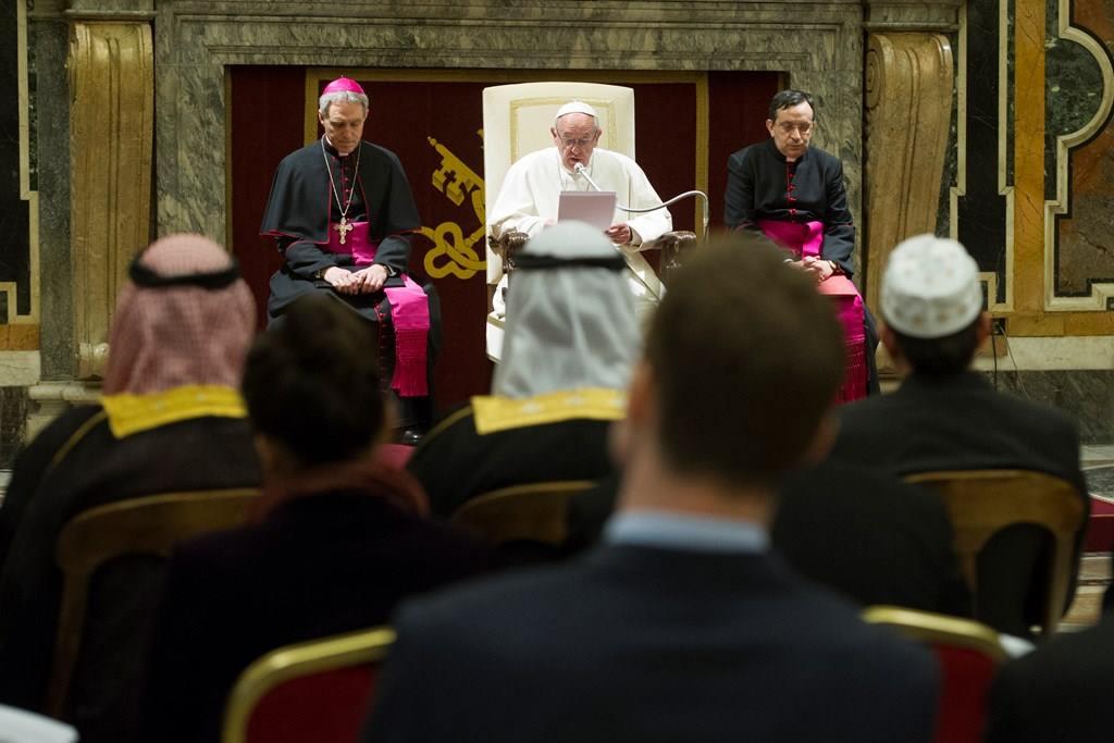 Папа: называть Бога гарантом собственных преступлений — это богохульство