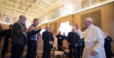 Папа — миссионерам: благовествуйте с огнём Святого Духа