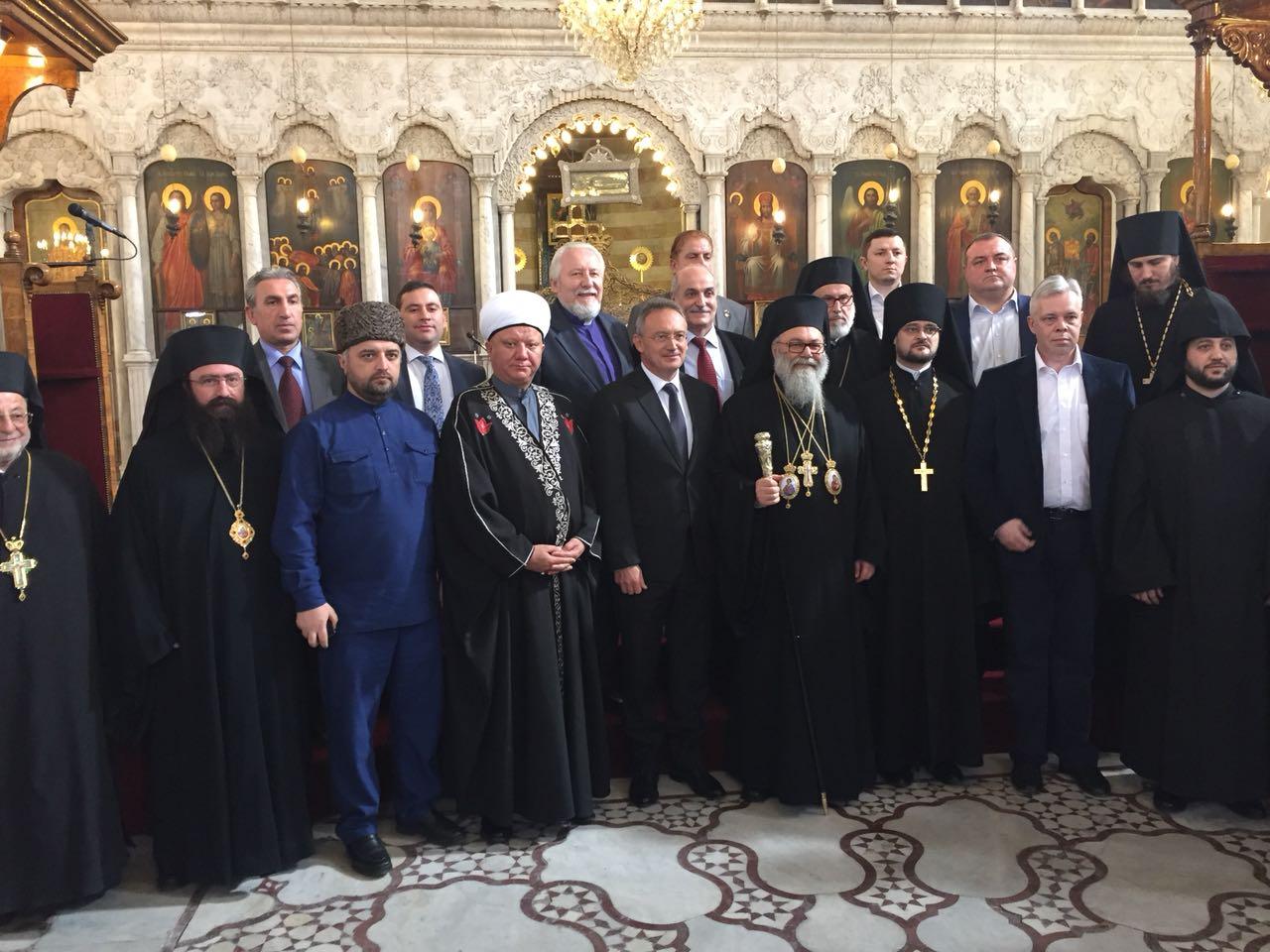 Религиозные общины России провели беспрецедентную по масштабам гуманитарную акцию в Сирии