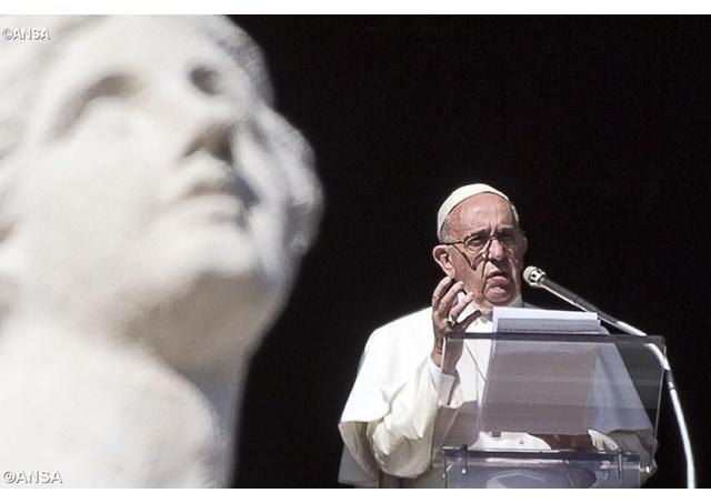 Слово Папы Франциска перед молитвой «Ангел Господень» в 1-е воскресенье Великого Поста. 18 февраля 2018 г., площадь Св. Петра