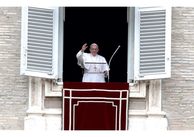 Слово Папы Франциска перед молитвой «Ангел Господень» во 2-е воскресенье Великого Поста. 25 февраля 2018 г., площадь Св. Петра