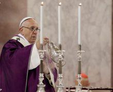 Проповедь Папы Франциска в Пепельную среду. Рим, базилика Св. Сабины. 14 февраля 2018 г.