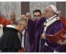 В Пепельную среду Папа Франциск призвал верующих «остановиться, присмотреться и вернуться»