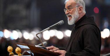 Проповедник Папского Дома о. Раньеро Канталамесса произнес свою первую великопостную проповедь