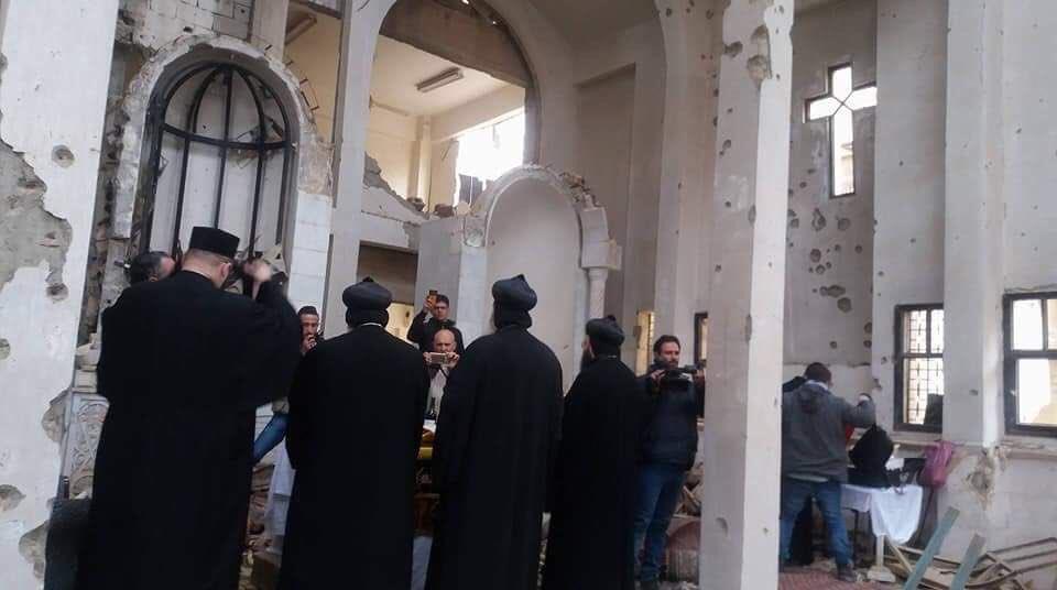 Впервые за пять лет совершена литургия в сиро-яковитской церкви Дейр-эз-Зора