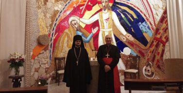 Апостольский нунций в Сирии встретился с секретарем ОВЦС по межхристианским отношениям