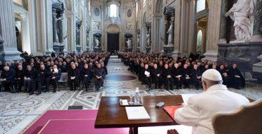Папа Франциск провел традиционную встречу с приходскими настоятелями Римской архиепархии