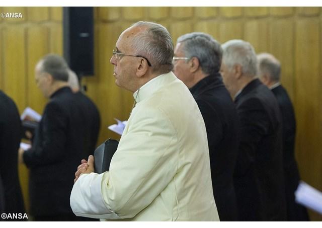 Реколлекции для Папы: любовь как лекарство от отчаяния