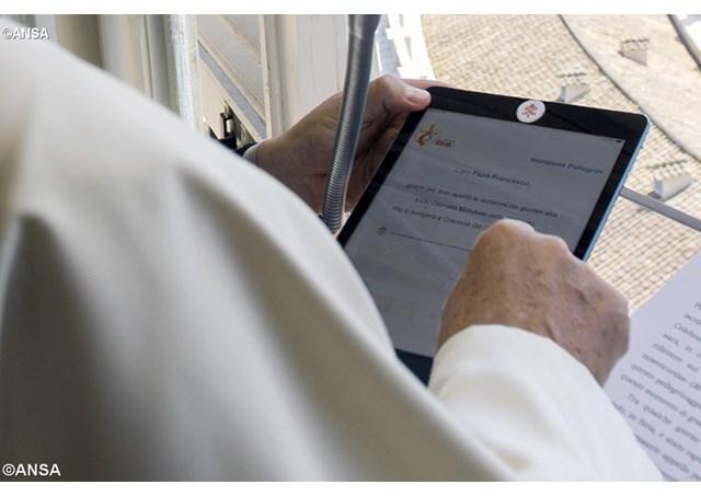 Папа дал старт регистрации на Всемирный день молодежи-2019