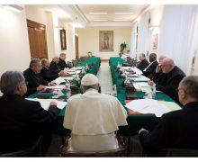 Состоялась первая в 2018 г. встреча Папы с Советом кардиналов