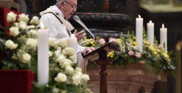 Папа — монашествующим: пережить заново встречу с Иисусом (+ ФОТО)