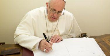 1 марта в Ватикане будет обнародовано Письмо Папы к епископам о спасении христиан