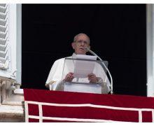 Слово Папы Франциска перед молитвой «Ангел Господень» в 4-е воскресенье Великого Поста. 11 марта 2018 г., площадь Св. Петра