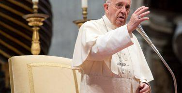 Папа Франциск на общей аудиенции научал о Евхаристической молитве