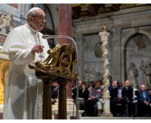 Папа — Общине Св. Эгидия: ради единства преодолевайте границы и стены