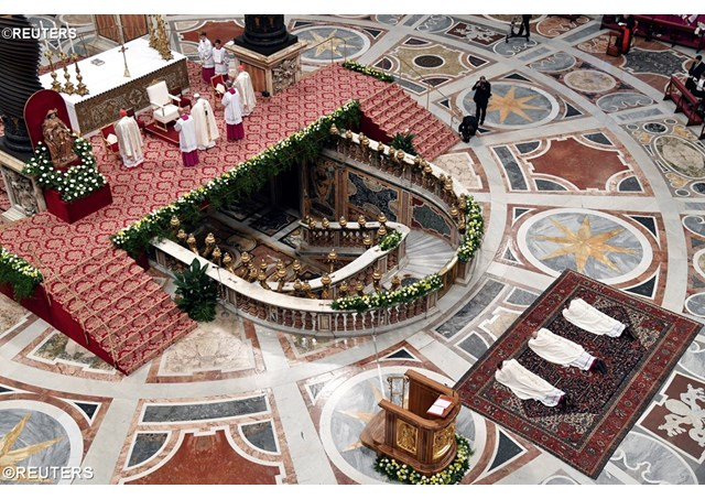 В праздник Святого Иосифа Папа возвел трёх церковных дипломатов в епископский сан