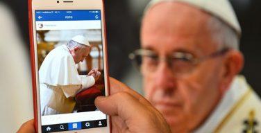 Профиль Папы Франциска в Инстаграм