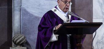 Папа Франциск на Мессе в Доме Св. Марфы: настоящий христианин готов на риск