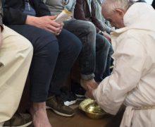 Папа Франциск возглавил Мессу Воспоминания Тайной Вечери в пенитенциарном учреждении