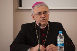 Владыка Иосиф Верт прочитал лекцию об истории католиков в Сибири