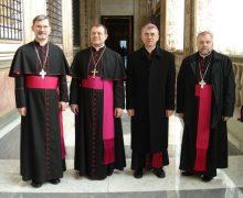 Российские католические епископы поздравили В.В. Путина с избранием на очередной срок