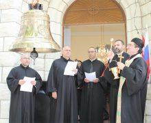 Состоялось освящение колокола, переданного в дар Маронитской Церкви по благословению Патриарха Кирилла